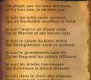 Poème d'Alicia