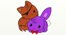 Cute foxy and bonnie by infera27-d8lou0f.png