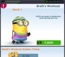 Bratt's Workout Minion Costume