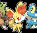Kalos Starter Pokémon