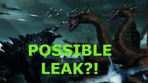 Godzilla 2- Possible Leaked Ghidorah Design Image!