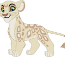 Kamaria the Albino Leopon