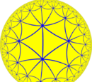 Order-8 triangular tiling