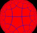 Order-4 pentagonal tiling
