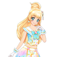 Shine Stars!/Light Blue Shine Stars Coord