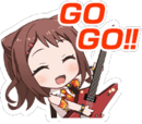 Girls Band Party!/Multi-Live Emotes