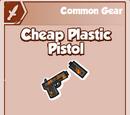 Cheap Plastic Pistol
