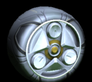 Painted wheel icons