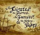 Los Piratas, el Loro, los Acertijos y los Barcos Parlantes