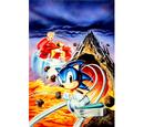 Sonic Spinball stock artwork