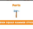 Design Squad Hammer Sticker