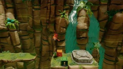 "Crash Bandicoot 2 ""N. Sane Trilogy"" Turtle Woods (Box Gem Walkthrough) 1080 HD"