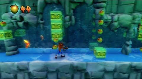 "Crash Bandicoot 2 ""N. Sane Trilogy"" Snow Go (Red Gem Guide) 1080 HD"