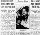 Artist Denies Miss Kane Was His Inspiration