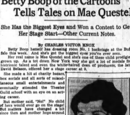 Betty Boop of the Cartoons Tells Tales on Mae Questel