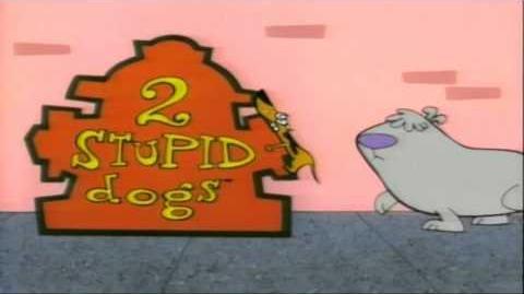 Dos perros tontos
