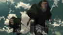 Keiji and Goggles chase the Armored Titan.png