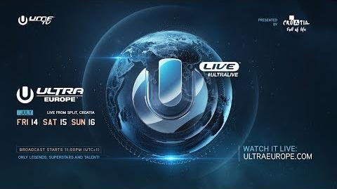 Frank Walker - Mainstage, Ultra Music Festival Europe 2017