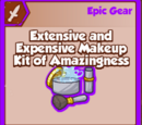 Extensive and Expensive Makeup Kit of Amazingness