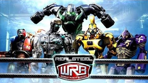 Real Steel WRB RIP OFF ALL ROBOTS Series of fights NEW ROBOT (Живая Сталь)