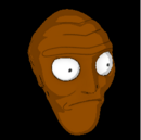 Cromulon topper icon burnt sienna.png