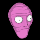 Cromulon topper icon pink.png