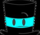 Cyan Top Hat
