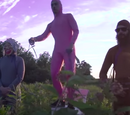 Pink Guy's bodyguards