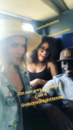 07-20-17 Arielle Kebbel IG, Parisa Fitz-Henley and Peter Mensah On Our Way to Comic Con.png