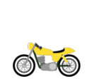 Yellow Cafe Motorcycle