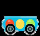 Blue Flashy Kart