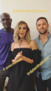 07-21-17 ExtraTV Peter Mensah, Arielle Kebbel and Dylan Bruce.png
