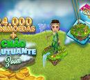 24.000 MiniMoedas + Chão Flutuante Zoom