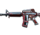 M4A1-S-Dual Mag Rank Match Red