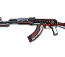AK47-Knife-Dual Mag Rank Match Red