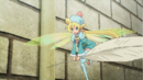 Fay the Fairy bringing a quill pen to register at Hotel Shokai Episode 18.png