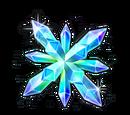 Large Chiral Crystal: Super