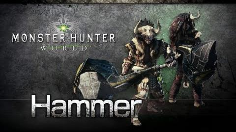 Monster Hunter World - Hammer Overview