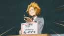 Denki chooses their hero name.png