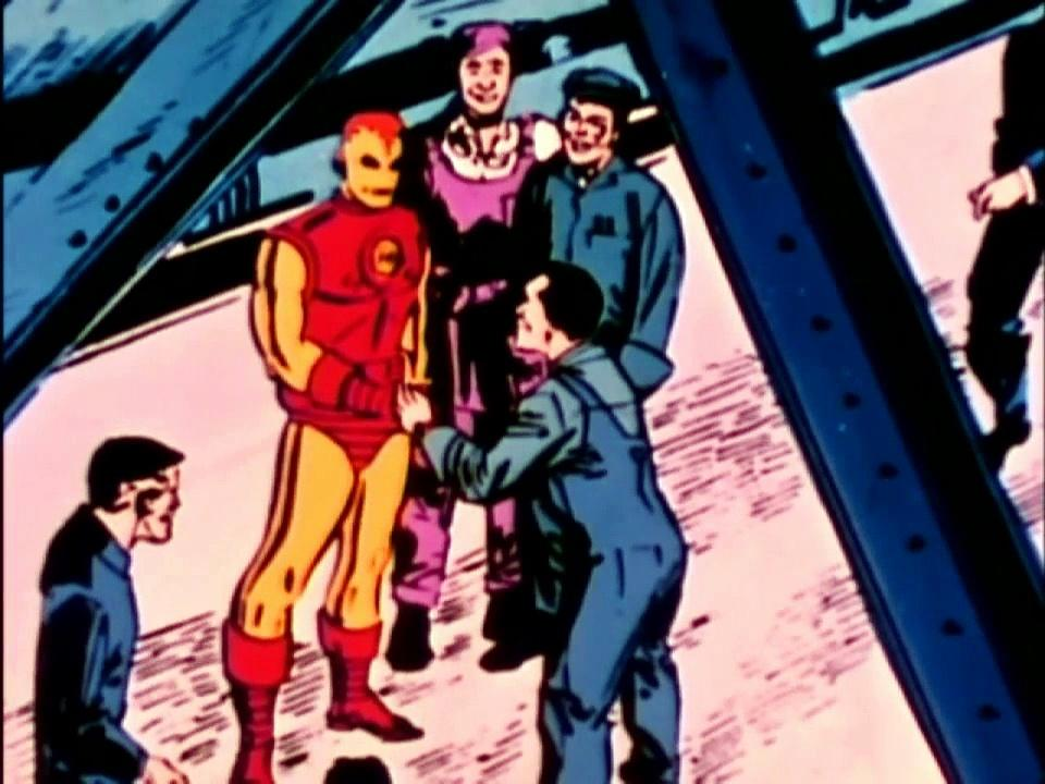 1966 The Marvel Super Heroes The Invincible Iron Man (s1 ep6 Enter Hawkeye)