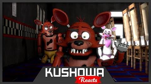 Kushowa Reacts to SFM FNAF Foxy's Family: Give Me A Break