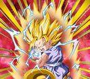 Omens of Awakening Super Saiyan 2 Goku (GT)