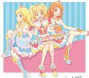 "Smart Phone App ""Aikatsu! Photo on Stage!!"" Split Single - AIKATSU SCRAPBOOK 02"