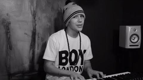 """Austin Mahone """"Say You're Just a Friend"""" Piano Version"""