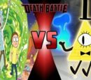 Rick and Morty vs Bill Cipher