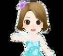 Aqua Chiffon Elegant Coord