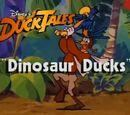 Dinosaur Ducks
