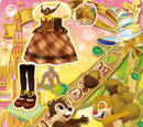 Chip & Dale Trad Girly Coord
