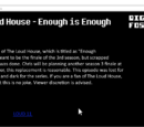 Loudhouse enogh is enogh