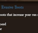 Evasive Boots